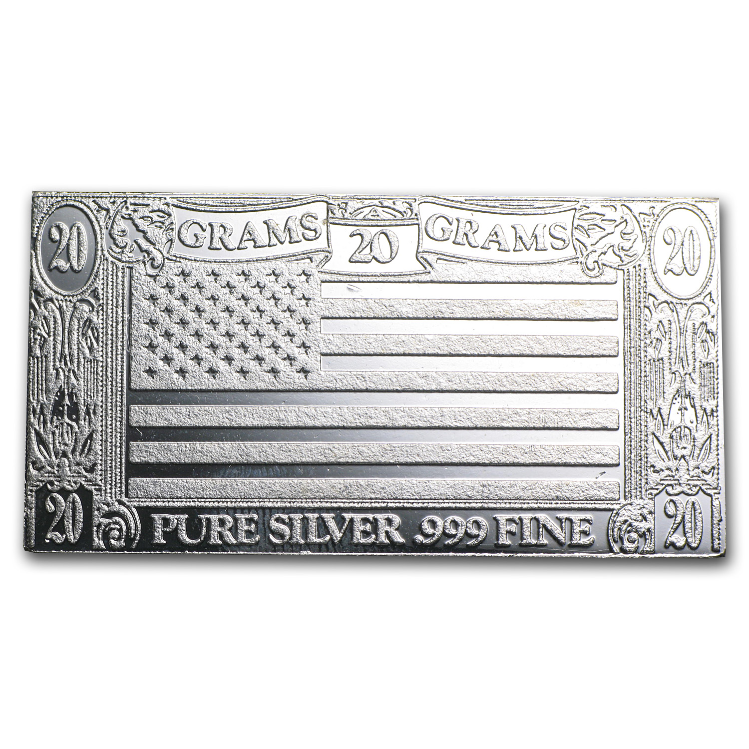 20 gram Silver Bars - Secondary Market
